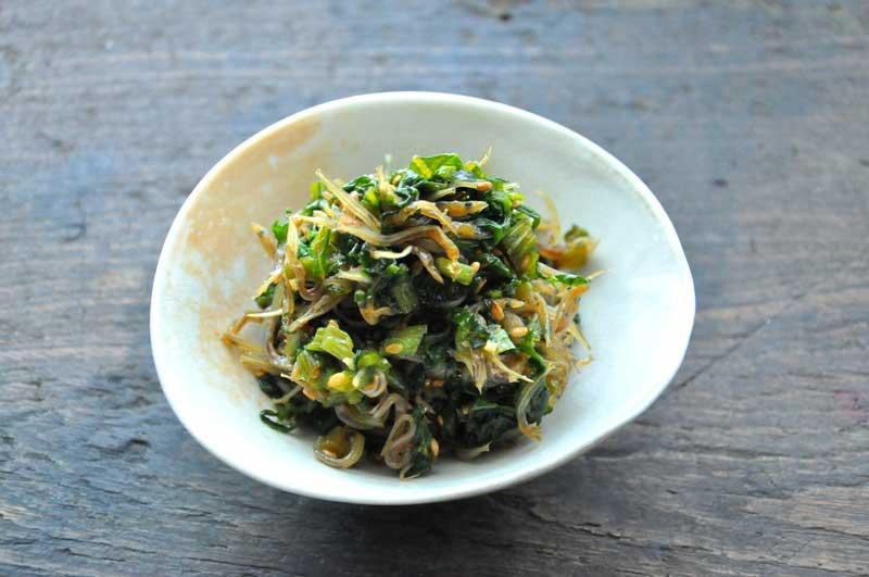 かぶの葉(大根の葉)ふりかけのレシピ